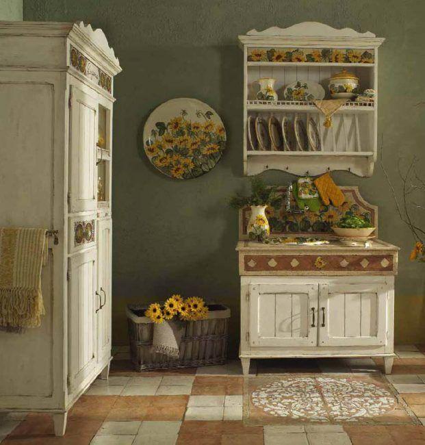 кухня прованс дизайн интерьера