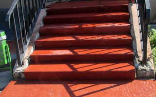 ковер на лестницу