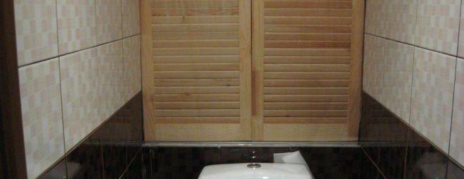 Шкафчик в туалете своими руками