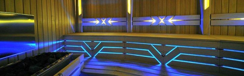 Светодиодные светильники для сауны
