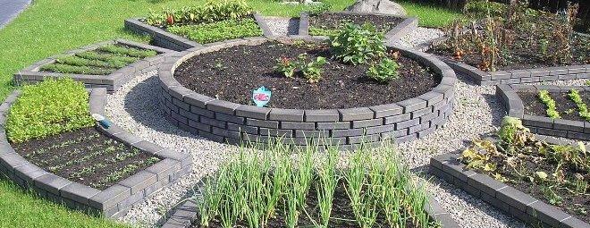 Оформление сада и огорода своими руками