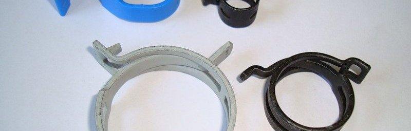Хомуты для крепления пластиковых труб