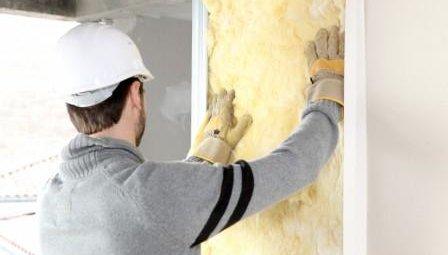 утепления стен минеральной ватой
