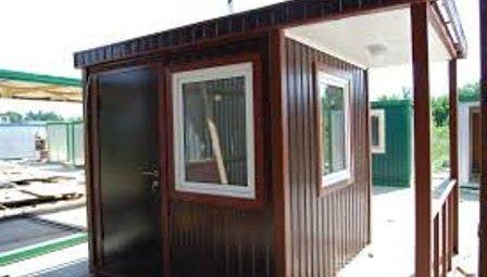 Дачный дом из блок-контейнеров