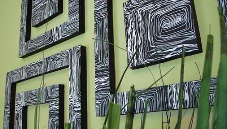 Декорируем стены своими руками