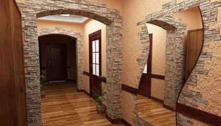Декоративный камень в дизайне