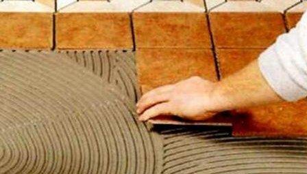 Материалы для укладки плитки