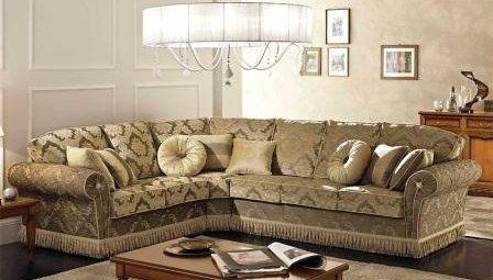 накидка на угловой диван