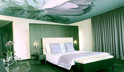 Натяжной тканевой потолок