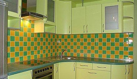 встроенная кухня 9 метров фото