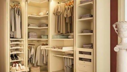 стоимость гардеробной