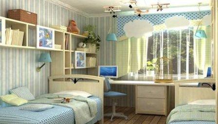оформить комнату ребенка