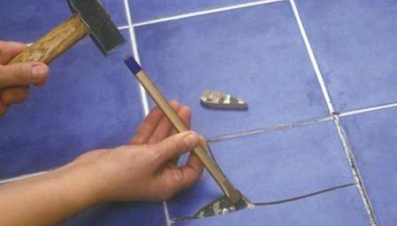 Дефекты облицовки из плитки