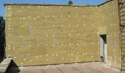 стены минеральная вата