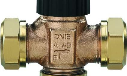 Трёхходовой смесительный клапан
