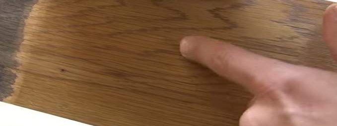 Тонировка древесины своими руками
