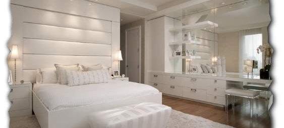 Белый цвет стен