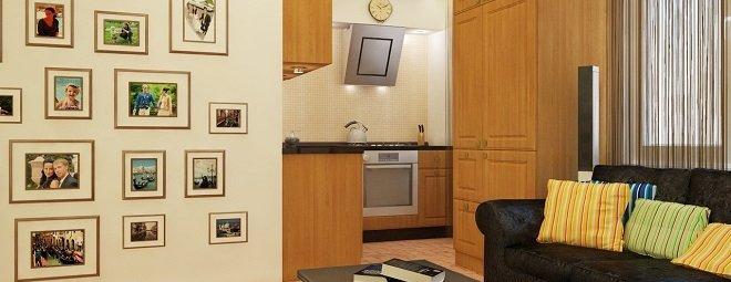 Перепланировка 2-х комнатной квартиры-хрущевки и её новый дизайн