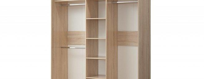 Внутреннее наполнение для шкафов-купе - выбираем внутренности