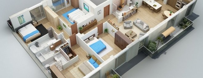 Проект квартиры своими руками